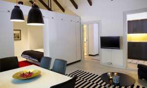 Дизайн студии площадью 27 кв. м (61 фото): планировка прямоугольной квартиры с балконом