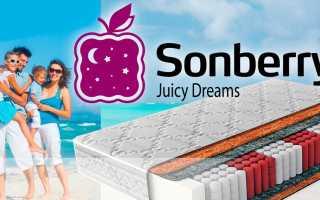 Матрасы Sonberry: фабрика, «Экономик B2B» 080х200, отзывы покупателей