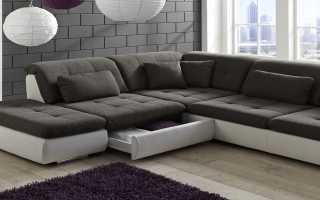 Угловой диван без подлокотников: 2000 х 1500 размер, «Дельфин»