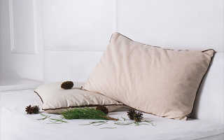 Подушки с кедровой стружкой: модели с наполнением из шелухи кедра