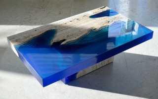 Столы из эпоксидной смолы своими руками (22 фото): как сделать стол-реку с помощью эпоксидки