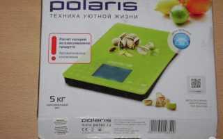 Весы кухонные Polaris: электронные бытовые модели PKS с подсчетом калорий и отзывы