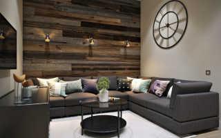 Дизайн стен в гостиной (77 фото): современные идеи оформления стенок, модная окраска и выбор ламинаат, стеновые панели
