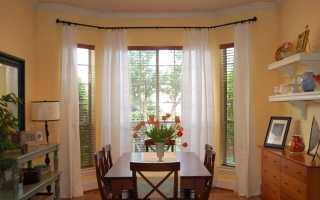 Карниз для эркера (36 фото): настенный вариант для эркерного окна, эркерные карнизы для штор, гнутые для круглого