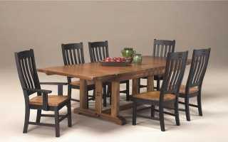 Большие столы: красивые модели с прямоугольной столешницей для гостиной
