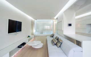 Белая гостиная (88 фото): черно-белый интерьер в современном стиле, классический дизайн в светлом цвете