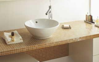 Плитка под мозаику для ванной (94 фото): дизайн в комнате столешницы из кафеля