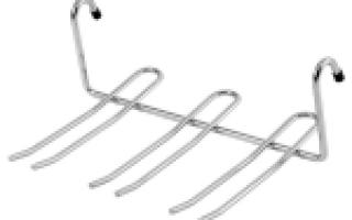 Полки для рейлинга на кухню (33 фото): навесные металлические полки