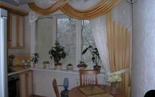 Длинные шторы на кухню (33 фото): готовые красивые модели, новинки