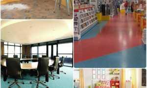 Подложка под линолеум на бетонный пол: нужна ли и какую выбрать, что подложить в качестве утеплителя