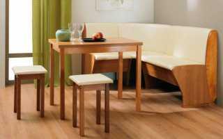 Кухонный уголок со столом и стульями (40 фото): модели для кухни Verona