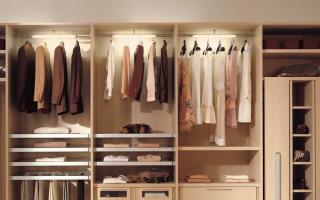 Маленькая гардеробная (59 фото): небольшая комната размером 2 кв. м из кладовки