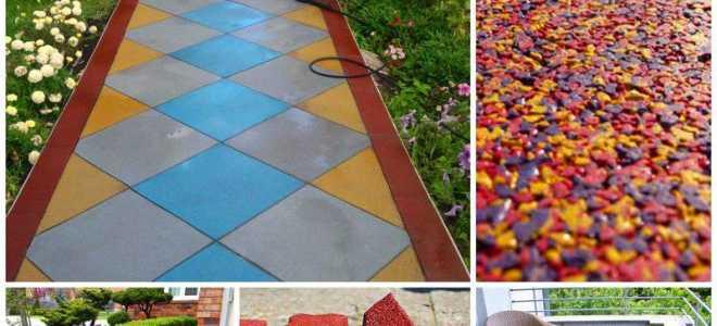 Универсальная плитка для дорожек на даче (79 фото): садовая и уличная, резиновая и пластиковая