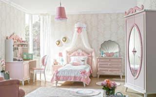 Детские спальни (86 фото): дизайн интерьера для детей, рисунок на стену, проект оформления в классике и в провансе