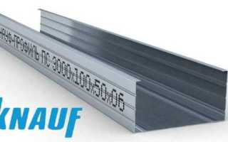 Профиль для гипсокартона Knauf: размеры и виды изделий для ГКЛ, 27х28 и 100х50
