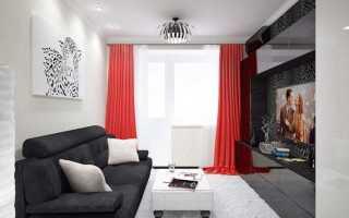 Дизайн гостиной с балконом: 15 фото