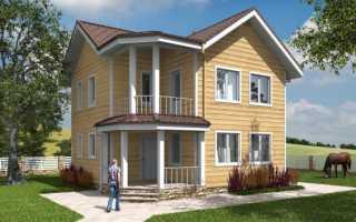 Проекты каркасных домов с мансардой (51 фото): варианты планировки коттеджей размером 8х10 и 7х9, 8х8 и 6х4 м