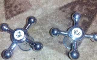 Маховик для смесителя: модели для кранов с вентилем и одной боковой ручкой