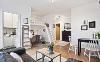 Примеры евроремонта квартиры студии