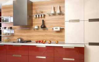 Фартук из ламината для кухни (38 фото): особенности и отзывы