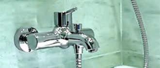 Установка смесителя в ванной: высота на раковиной для монтажа на стену