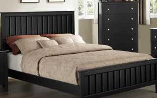 Черные кровати (27 фото): кожа черного цвета в интерьере