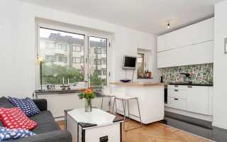 Дизайн студии 28 кв. м (47 фото): интерьер и планировка