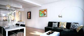 Дизайн квартиры-студии: 20 фото идей