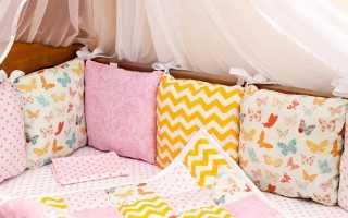 Бортики в кроватку для девочки (44 фото): детские и подростковые кровати с красивыми бортами