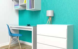 Декоративная покраска стен (37 фото): окраска обоев своими руками