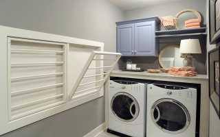 Прачечная в доме (20 фото): дизайн комнаты в подвале, планировка прачечной в квартире и частном одноэтажном доме