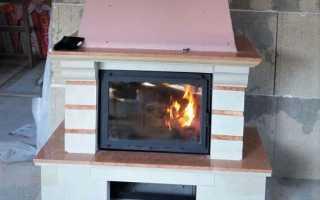 Печь-камин для загородного дома (71 фото): современные модели для отопления с теплообменником в каркасном доме