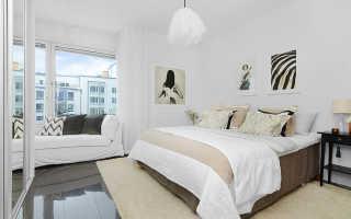 Белая спальня (113 фото): дизайн интерьера в светлых тонах