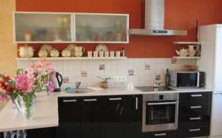 На какой высоте вешать кухонные шкафы: размеры от пола нижних шкафов на кухне и верхних от столешницы