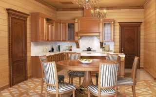 Вагонка на кухне (37 фото): отделка своими руками в частном доме