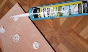 Жидкие гвозди для керамической плитки: можно ли приклеить гипсовую плитку