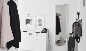 Прихожие в коридор (81 фото): стильные радиусные шкафы и мебель в скандинавском стиле в современном интерьере