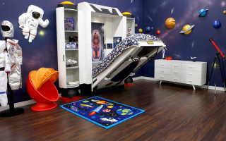 Детская кровать для мальчика 5 лет (59 фото): 1-спальная кроватка