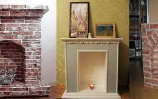 Декоративный камин своими руками (93 фото): как сделать из коробок, пошаговая инструкция как самому сделать