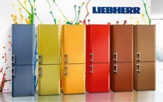 Цвет холодильника Liebherr: модели бежевые и красные, цветные и черные, синие и зеленые