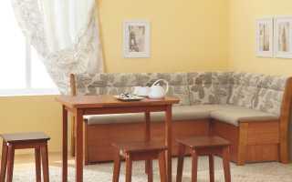Кухонный уголок со спальным местом (82 фото): раскладной мягкий модуль от Домино и Этюд