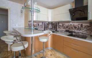 Угловая кухня с барной стойкой (56 фото): дизайн кухонного гарнитура в современном интерьере
