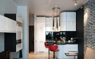 Дизайн кухни-гостиной площадью 12 кв. м. (50 фото): примеры интерьера с диваном