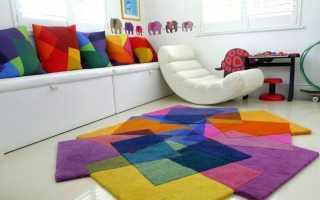 Оригинальные ковры: эксклюзивные напольные модели необычной формы на пол