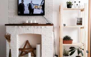 Искусственный камин в квартире (33 фото): как сделать своими руками