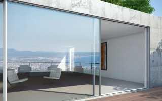 Раздвижные алюминиевые двери: теплые межкомнатные раздвижные профили, особенности и отзывы