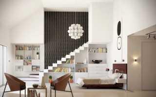 Дизайн однокомнатной квартиры 42 кв. м (31 фото): проект с отличной планировкой, интересные идеи оформления интерьера
