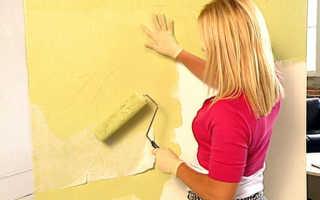 Обои под покраску (56 фото): как красить флизелиновые или другие обои своими руками