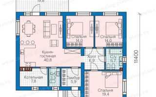 Планировка одноэтажного дома (119 фото): лучшие проекты дома с тремя спальнями размером 8 на 9 и 10 на 12 и гаражом