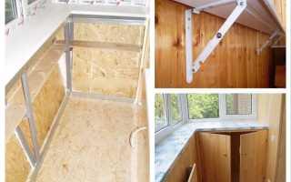 Подоконник на балконе: как установить и сделать своими руками, установка на лоджии